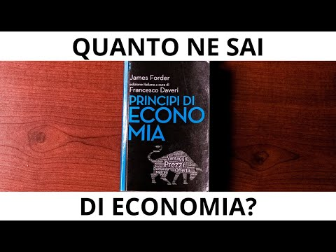 """Perché l'economia è importante? - EPISODIO 1 """"PRINCIPI DI ECONOMIA"""""""