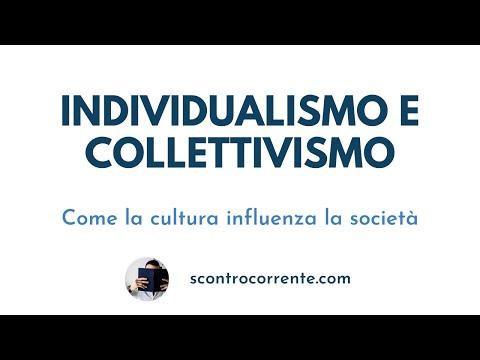 """Individualismo e collettivismo - Episodio 2 """"Psicologia Sociale"""""""