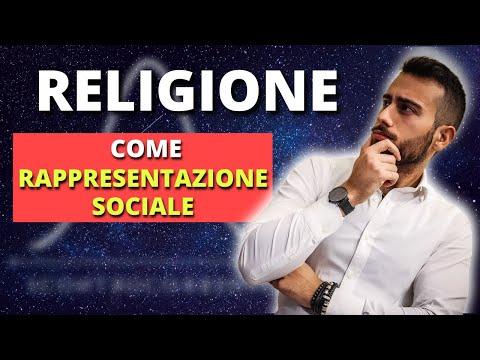 Religione come rappresentazione sociale
